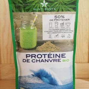 Protéine de chanvre – Nunti Sunya