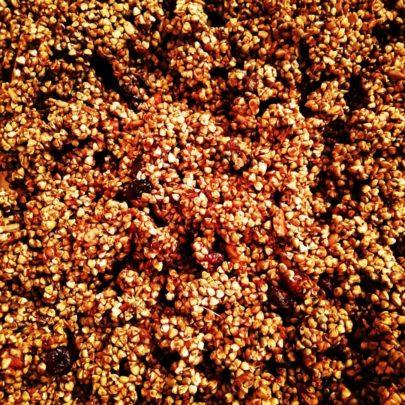 Granola Cacao'ye zoom vrac – Sattvikaya